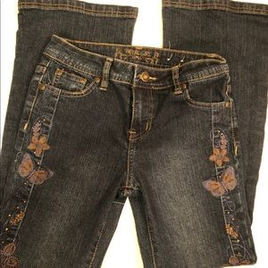 3/ $20 Total Girl Butterfly Jeans